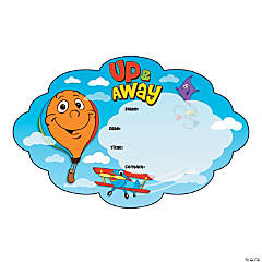 Up & Away Window Clings