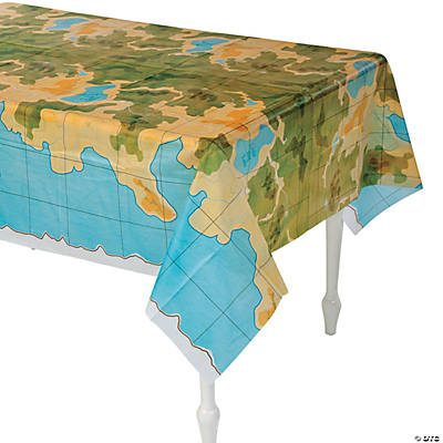Awesome Adventure Tablecloth