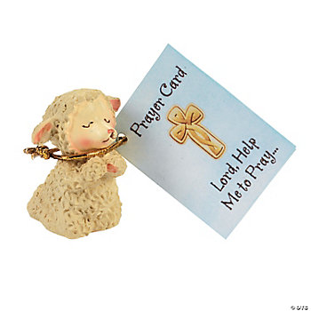 Praying Lamb Figurines