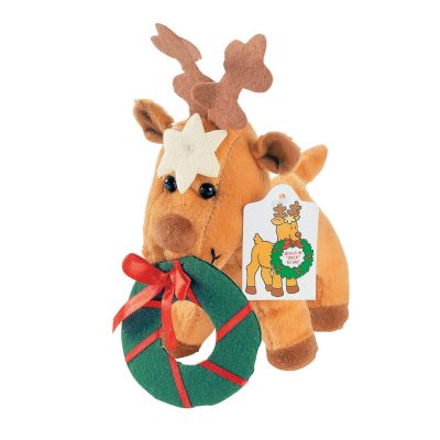 Plush Christian Christmas gifts stockings reindeers