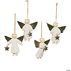 Star-Gathering Angel Ornaments