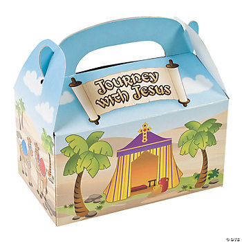 Journey With Jesus Treat Boxes