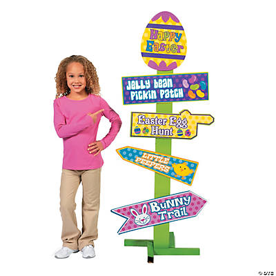 Easter Egg Hunt Directional Sign