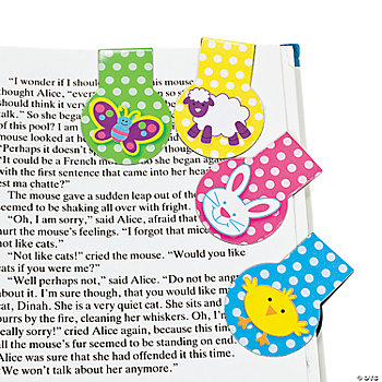 Easter Magnetic Bookmarks
