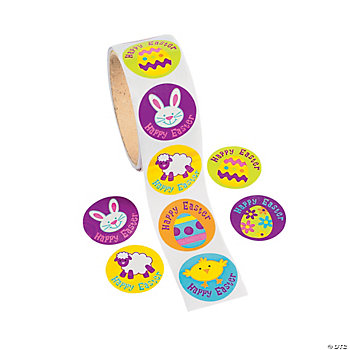 Iconic Easter Roll Stickers