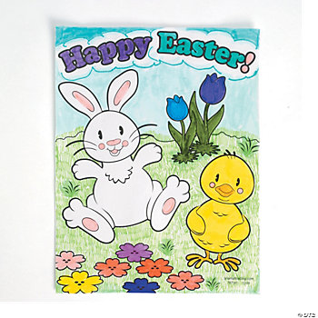 Easter Coloring Contest Sheets