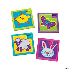Easter Slide Puzzles