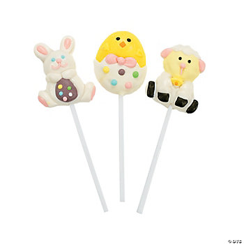 Pastel Easter Suckers