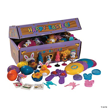 Easter Treasure Chest Toy Assortment