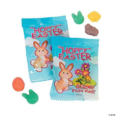Easter Candy Character Gummy Fun Packs