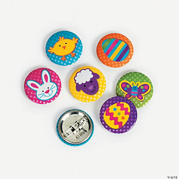 Egg-Cellent Easter Mini Buttons