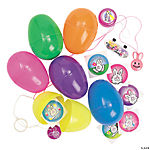 Jumbo Toy-Filled Bright Eggs