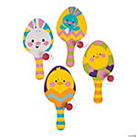 Easter Bunny & Friends Paddleball Games