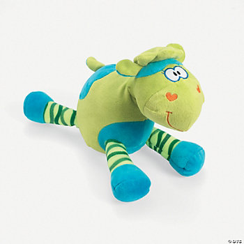 Plush Bright Green Lamb