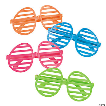 Easter Egg-Shaped Shutter Shading Glasses