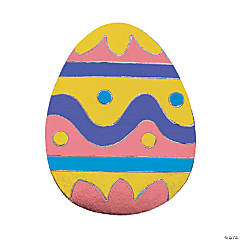 Easter Egg Sticker Foil Activities