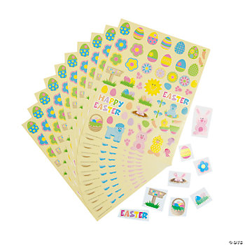 Easter Sticker Sheets