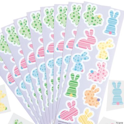 Easter Bunny Sticker Sheets