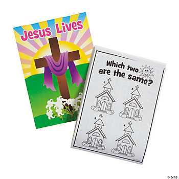 """He Lives!"" Activity Pads"