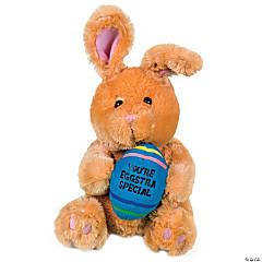 "Plush ""You're Eggstra Special"" Brown Bunny"