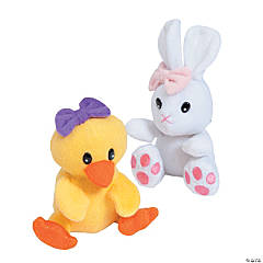 Plush Bunny &amp: Chick Assortment