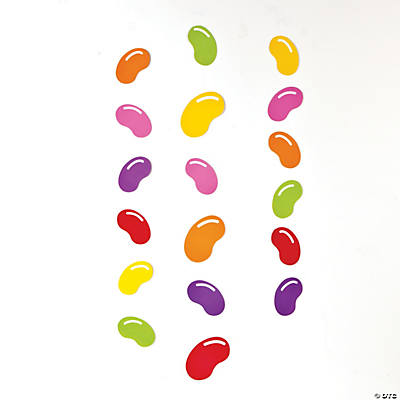 Jellybean Hanging Decorations