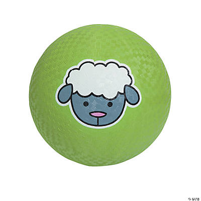 Lamb Playground Ball
