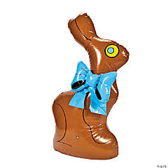 Inflatable Jumbo Chocolate Bunny