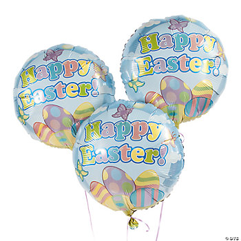 """Happy Easter"" Balloon Set"