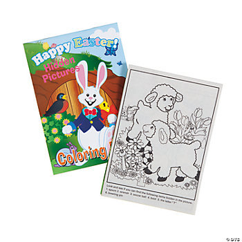 Easter Picture Find Activity Books