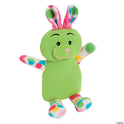 Multicolor Plush Bunny