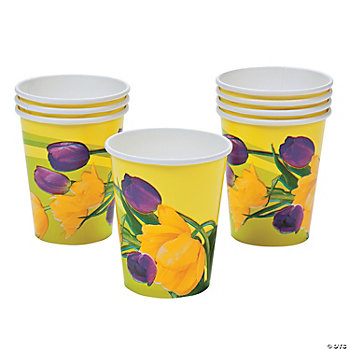 Blooming Tulips Cups