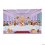 DIY Giant Last Supper Sticker Scenes