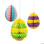 Paper Easter Egg Silhouette Hanging Decorations