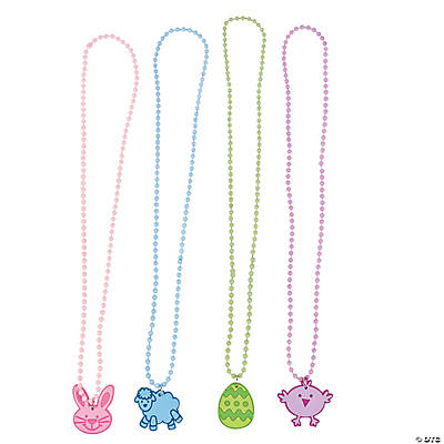 Easter Character Beaded Necklaces