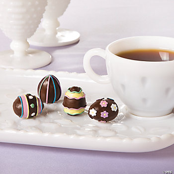 Mini Chocolate Egg Decorations