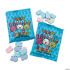 Easter Bunnies Hard Candy Fun Packs