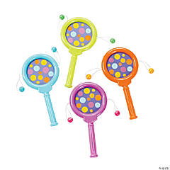 Bright Polka-Dot Noisemakers