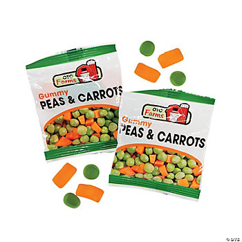 Peas & Carrots Candy Fun Packs