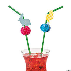 Easter Silhouette Straws