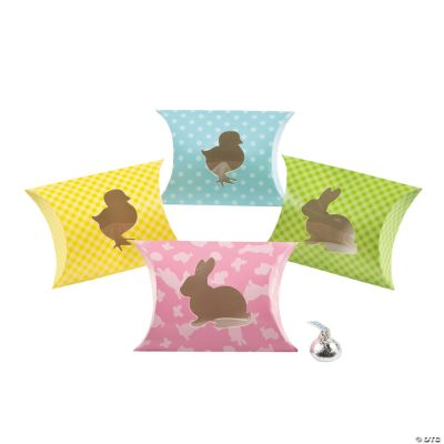 Easter Silhouette Pillow Boxes