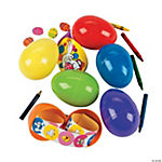 Bright Stationery-Filled Jumbo Easter Eggs