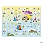 Make-A-Lent Calendar Sticker Scenes