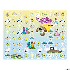 Lent Calendar Sticker Scenes