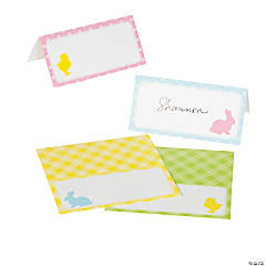 Easter Silhouette Place Cards