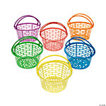 Bright Round Baskets