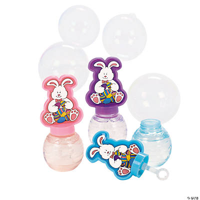 Easter Bunny Bubble Bottles