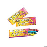 """He Lives!"" Crayons"