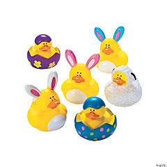 Easter Rubber Duckies