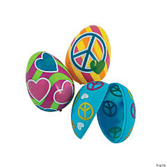 Peace, Love & Flower Eggs